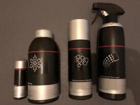 Audi car cleaning products all new