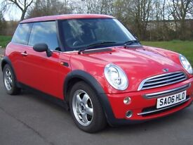 Mini One 1.6i , 2006 06 Reg , Red , Excellent Condition