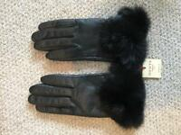 NEW - Dents, Leather and Fur Gloves