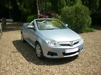 Vauxhall Tigra 1.4 Twin top, 27,000 warranted miles, leather seats