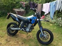 Husaberg 650e In good condition, one previous owner and absolutely brilliant bike.