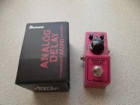 Ibanez analog mini delay pedal