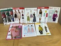 Selection of 8 sewing patterns
