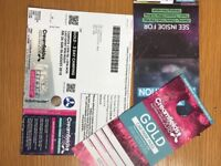 Creamfields gold 3 day camping ticket