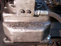 Greenlee Hydraulic Pump (Black)