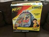 Nerf combat shelter