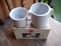 Milk & Sugar Bowls--Brand New in Box!