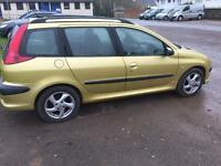 Peugeot 206 1.6 petrol for sale