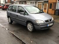 VAUXHALL ZAFIRA 1.6 LIFE MODEL 54 REG WITH SERVICE HISTORY + CAM BELT KIT DONE ANY P/X WELCOME