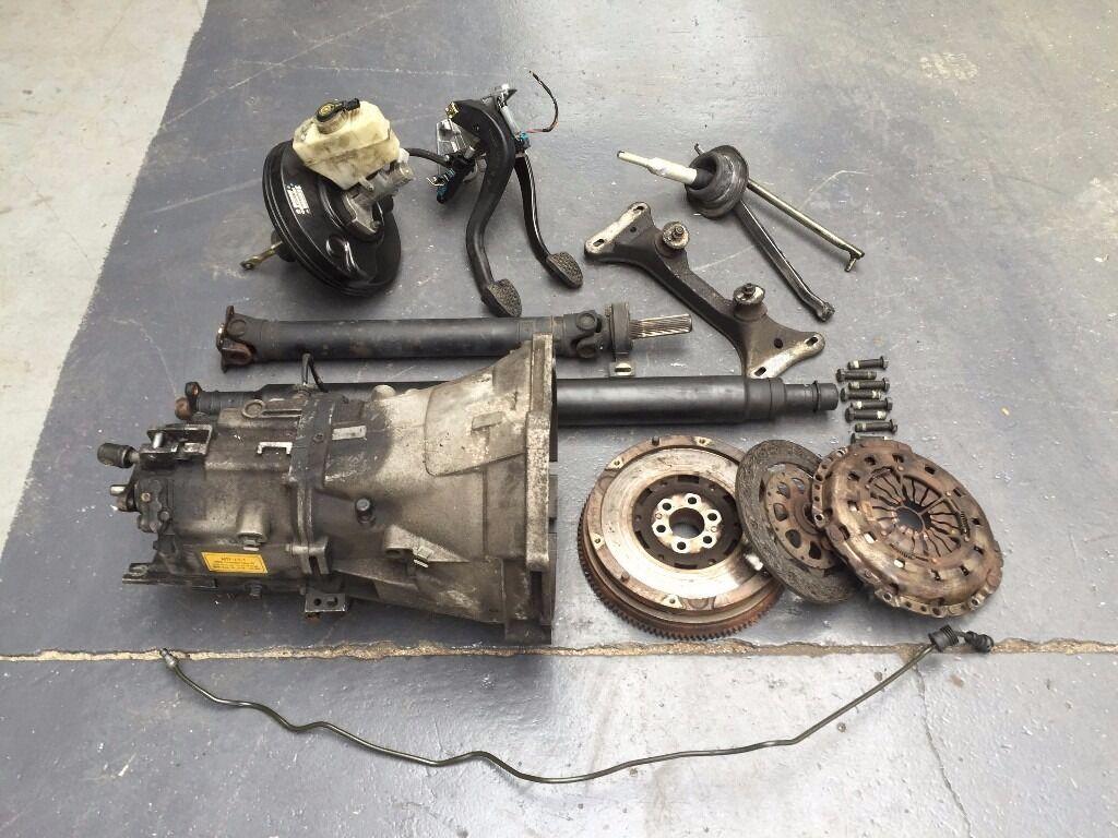 BMW E36 323i Manual Getrag Gearbox Conversion, DMF & Clutch, Prop Shaft -  E46