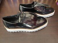 Zara Blucher Flecos - Ladies Shoe - UK 5