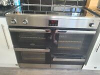 Belling cookcentre 100 ei in stainless steel