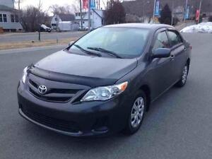 2012 Toyota Corolla CE..AUTO..AIR..PWR LOCKS ..LOW KMS..$119 B/W