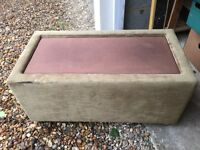Olive gold coffee table