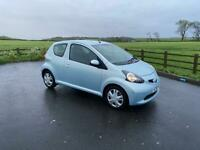 TOYOTA AYGO, 2006/56, LOW MILES, SERVICE HISTORY, £20 TAX £1695