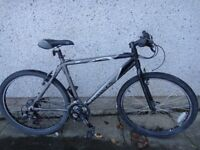 Dawes Ombra bike, 26 inch wheels, 21 gears, 20 inch lightweight aluminium frame can possibly deliver