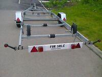 Nice boat trailer