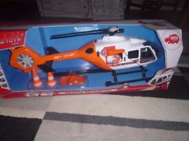 BRAND NEW BOXED 64 CM RESCUE HELICOPTER RRP 47