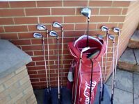 Fantastic Offer! Reduced Price! Brand New Set of Macgregor Golf Clubs, Never Used.