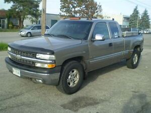 2002 Chevrolet Silverado 1500 LT! 4X4! EXT CAB! LEATHER! LOADED!