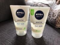 Nivea men's sensitive face wash