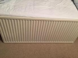 Very wide single radiator 1400 x 600