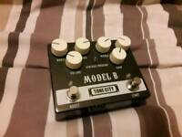 Tonecity Model B High Gain Distortion Pedal with boost