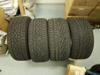 4 Winter tyres for 2014 model Mercedes Benz SLK 250