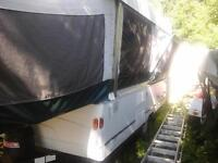Coleman (Tacoma) tent trailer with add-a-room!