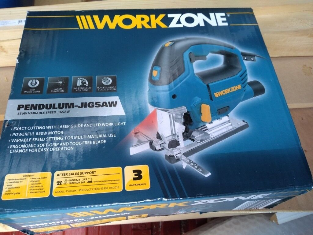 WorkZone (Aldi) pendulum jigsaw - new! | in Fishponds, Bristol | Gumtree