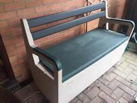 Keter outdoor garden Storage seat