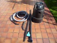 OASE pond vacuum.