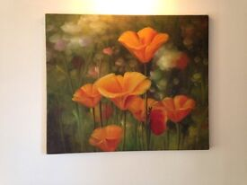 Oil on Canvas Painting - CLEARANCE