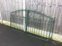 Nice Set Of Decorative Metal / Steel Driveway Gates Can Deliver
