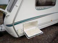 Abbey 4 berth touring caravan