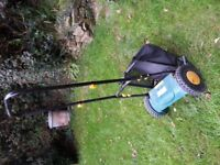 House Clearance B&Q cordless lawnmower