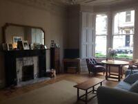 2 double bed garden flat in Merchiston