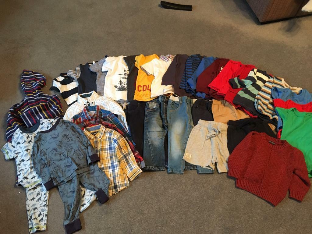 1acb5edc7 Bundle of baby boys clothes aged 12-18 months