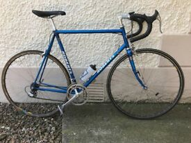 Charlie Roberts classic racing bike, Columbus SLX, full Dura Ace group set, 60cm (23.5 in)