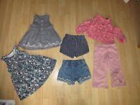 GIRLS 18-24 MONTHS CLOTHES BUNDLE tops, dress, trousers, shorts