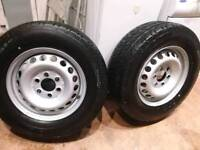 NEW CONTINENTAL WHEEL/TYRE MERCEDES OR VW 2356516