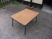 Folding picnic Table Extendable extendable in height Delivery Available