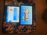 Nintendo 2DS with case, box, 4 games