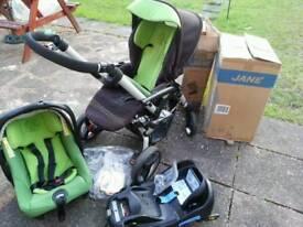 Jane push chair. Car seat & travel system