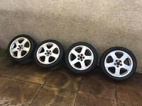 Vw Alloy Wheels Genuine Santa Monica's from A Mk4 v6 4motion golf. Will fit others like seat skoda