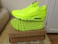 nike air max 90 independance hyperfuse neon green ,size 8.5 BNIB delivery or collection