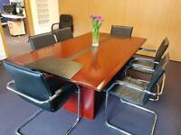 Board Room Table & Chairs URGENT SALE
