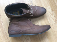 London Base Leather Boots Used Very Good Condition, Size 41
