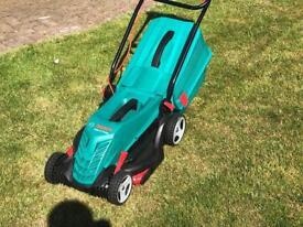 Bosch Electric Lawnmower. Rotak 37-14 Ergo