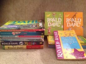 Roald Dahl children's books